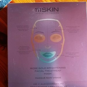 Facial treatment masks